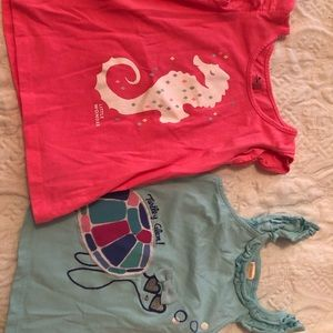 Two 3T girls tank tops. One GAP one Gymboree